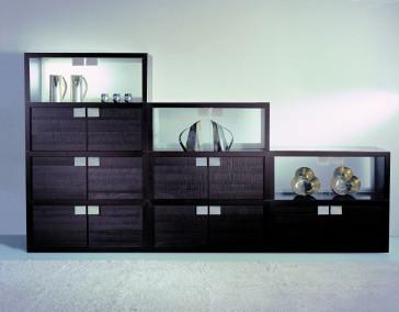 Reflex Giano MODULARE - Geschlossen mit Glas-Rückwand und Türen