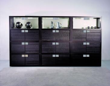 Reflex Giano MODULARE - Geschlossen mit Holz Rückwand und Türen