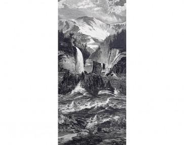 Pierre Frey - Les Rocheuses - FP519001 Fusain