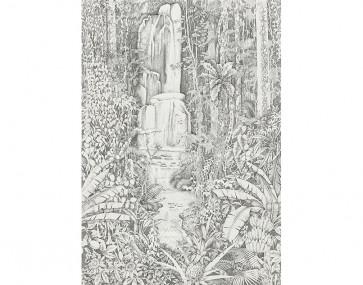 Pierre Frey - Jardin D'Eden - FP524001 Fusain