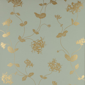Colefax and Fowler - Summer Palace - Honeysuckle 7946/06 Aqua/Gold