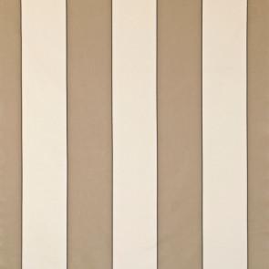 Dominique Kieffer - Larges Rayures de Coton - Mastic et blanc 17183-004