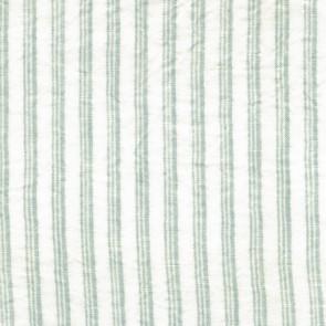 Dominique Kieffer - Rayures Antiques G.L. - Bleu d'azur et blanc 17186-006