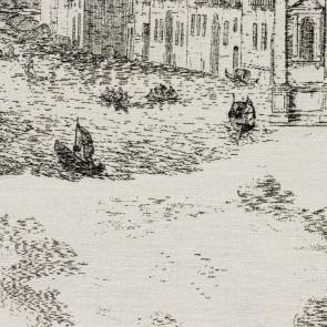 Rubelli - Toile de Venise - Antracite 30122-003