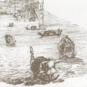 Rubelli - Voile de Venise - Sepia 30132-004