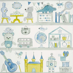 Camengo - Bibliothèque - 72820239 Bleu