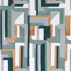 Casamance - Misura - Jazz - 74481352 Olive/Marine