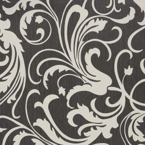 Casamance - Cape Grim - Motif Baroque Gris 819129