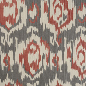 Casamance - Horizons - Explorations Killim Gris Rouge 9600420