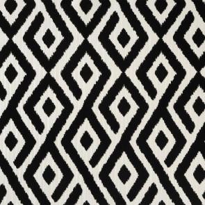 Casamance - Horizons - Ailleurs Ikat Flock Noir 9650121
