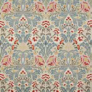 Colefax and Fowler - Acantha - F4613/04 Tomato/Blue