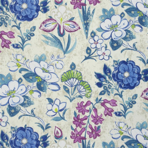Designers Guild - Lotus Flower - Teal - F1835-02
