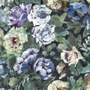 Designers Guild - Bloomsbury Rose - Indigo - FDG2355-01