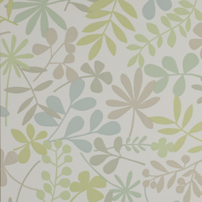 Jane Churchill - Alba - Calder - J114W-04 Aqua/Green