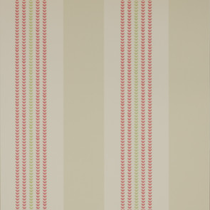 Jane Churchill - Alba - Celia Stripe - J119W-01 Red/Beige
