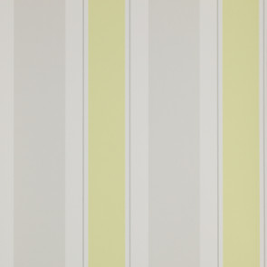 Jane Churchill - Brightwood - Helford Stripe - J134W-02 Yellow/Grey