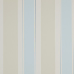 Jane Churchill - Brightwood - Helford Stripe - J134W-03 Aqua