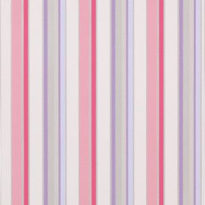 Jane Churchill - Get Happy - Disco Stripe - J142W-02 Pink/Silver