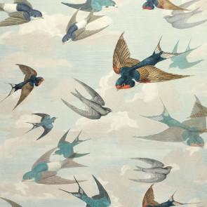 John Derian - Chimney Swallows - PJD6003/01 Sky Blue