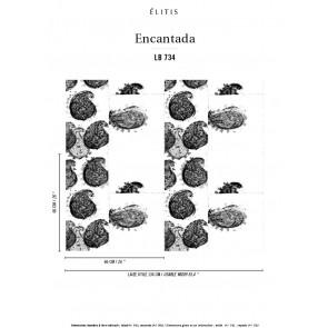 Élitis - Encantada - Graine de musc LB 734 57