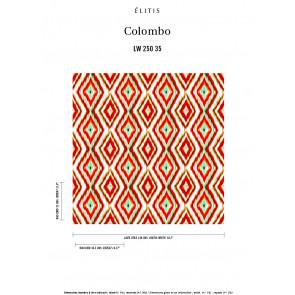 Élitis - Colombo - Le soleil de la liberté LW 250 35