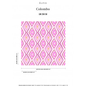 Élitis - Colombo - La vie en rose LW 250 50