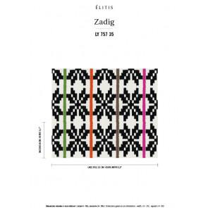 Élitis - Zadig - La vie est une fête LY 757 35