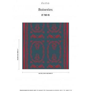 Élitis - Boiserie - Nos premiers amours LY 760 45