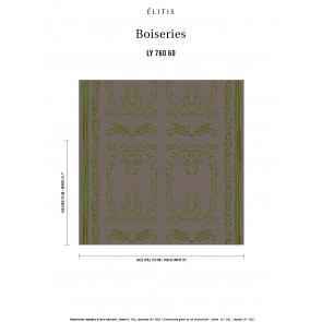 Élitis - Boiserie - Rencontre printanière LY 760 60