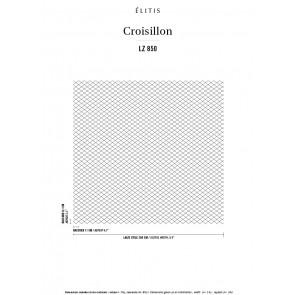 Élitis - Croisillon - Fidèle à ses classiques LZ 850 01