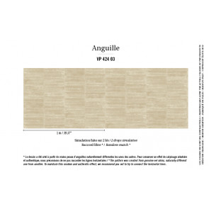 Élitis - Anguille big croco galuchat - Anguille - VP 424 03 Un secret espoir
