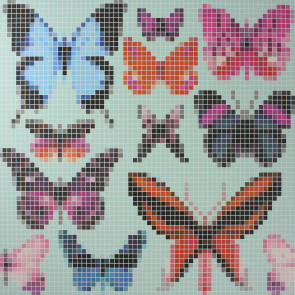 Osborne & Little - Verdanta - Butterfly House W6594-02