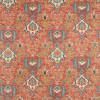 Colefax and Fowler - Floriana Velvet - F4689/01 Red